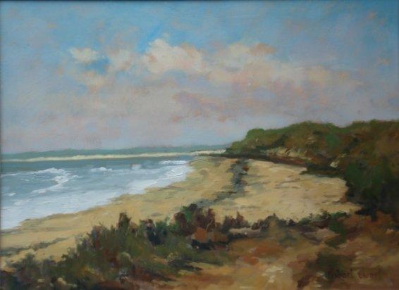 Michael Ewart-Druridge Bay-Oil on board-28x38cm-£580-A